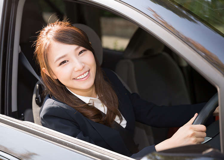 Driving a Car in Japan