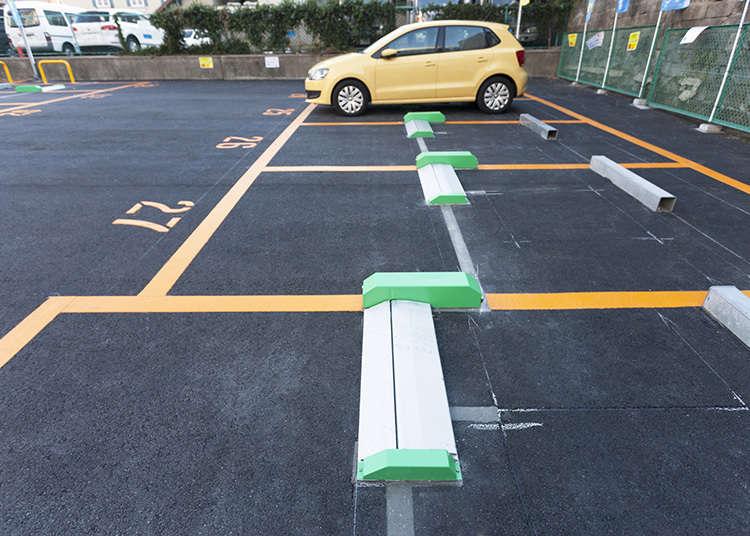 フラップ式駐車場