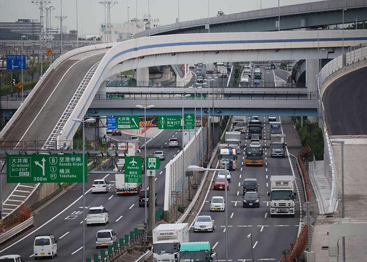 高速公路的駕駛與交通號誌