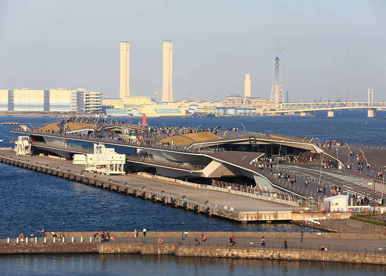 요코하마 항 오산바시 국제 여객선 터미널