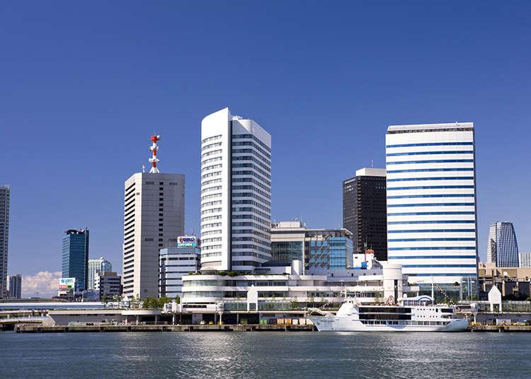 Terminal kapal Takeshiba.