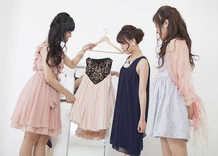 各式各樣日本時尚流行文化演進。