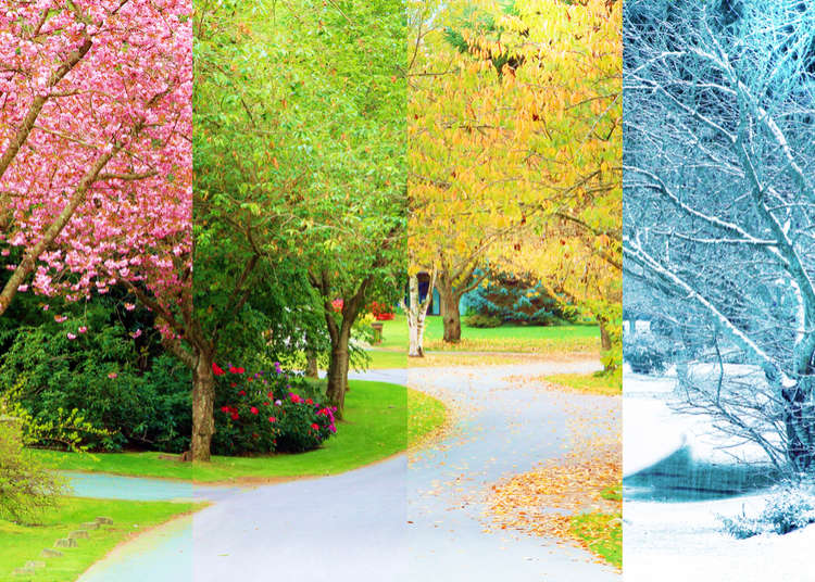 The Four Seasons and Weather in Japan