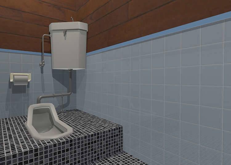재래식 화장실 사용법