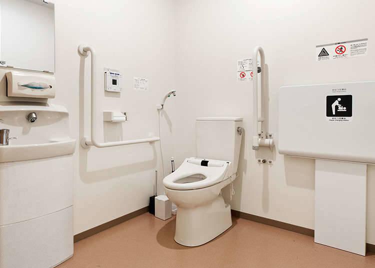 วิธีการใช้ห้องน้ำอเนกประสงค์