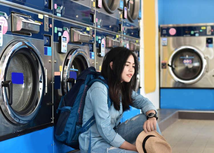 Sangat berguna jika diketahui! Cara menggunakan kedai dobi layan diri semasa melancong.