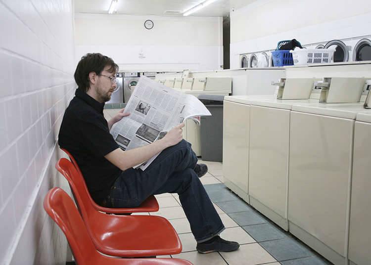 在投币式洗衣房里度过时间的方法
