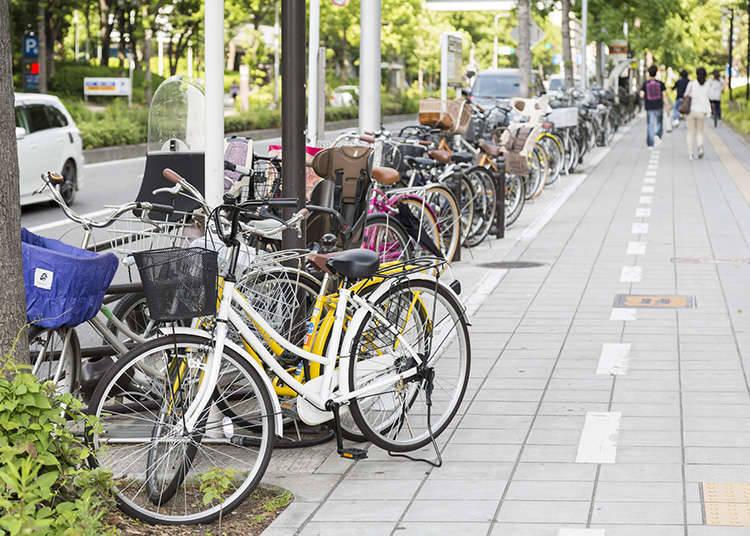 請鎖好腳踏車