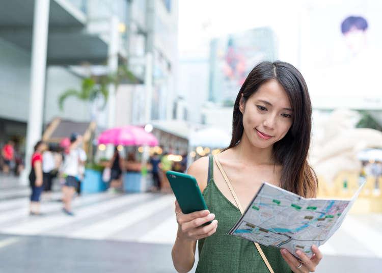Jom berseronok di setiap pelusuk Jepun! Frasa-frasa yang boleh digunakan ketika melancong.