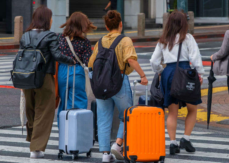 Mari ambil tahu! Benda yang perlu dibawa dan tidak boleh dibawa bersama-sama semasa berjalan-jalan di Jepun.
