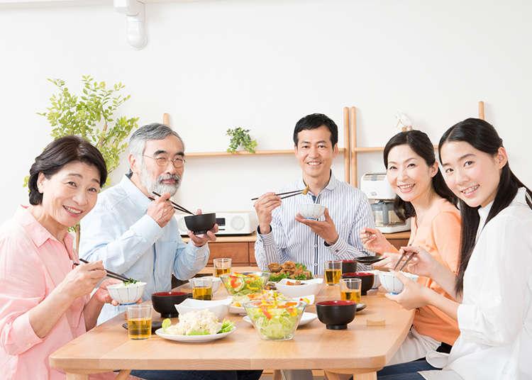 在日本的餐桌禮儀