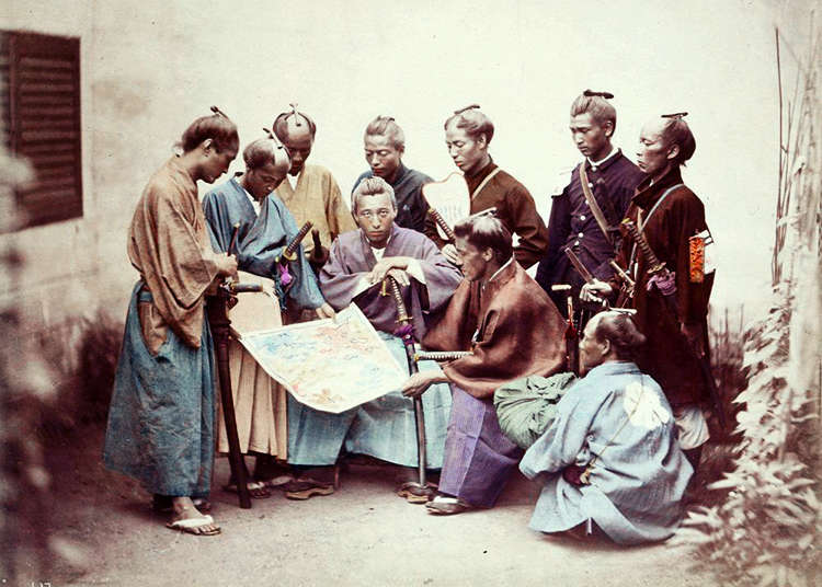 A quick guide to key events in Japanese history