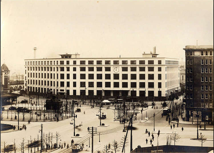 Japan's First Central Central Post Office