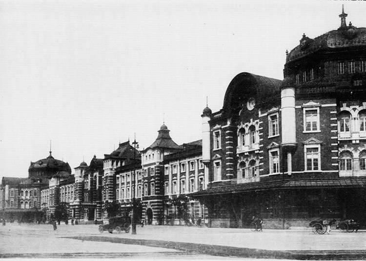 東京車站的開始營運