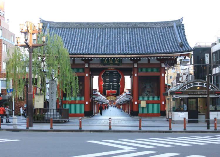 Asakusa dan Ueno yang kaya dan meriah dengan seni hiburan masyarakat awam