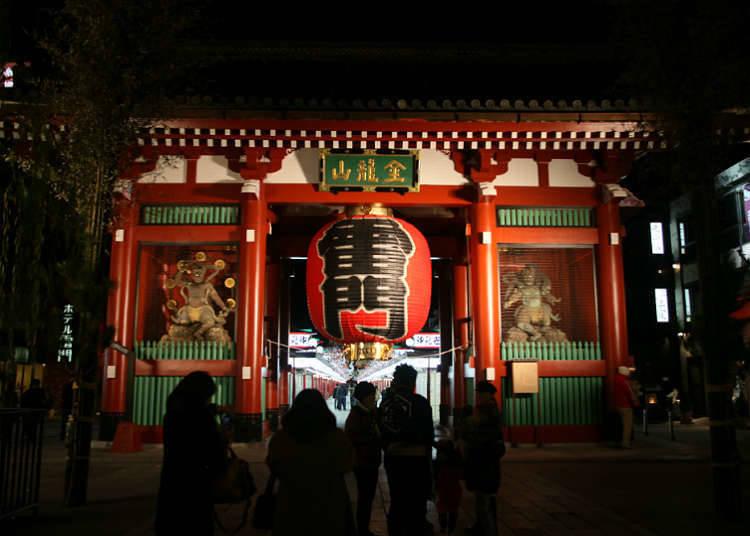 靠近车站可以顺便去玩的浅草上野