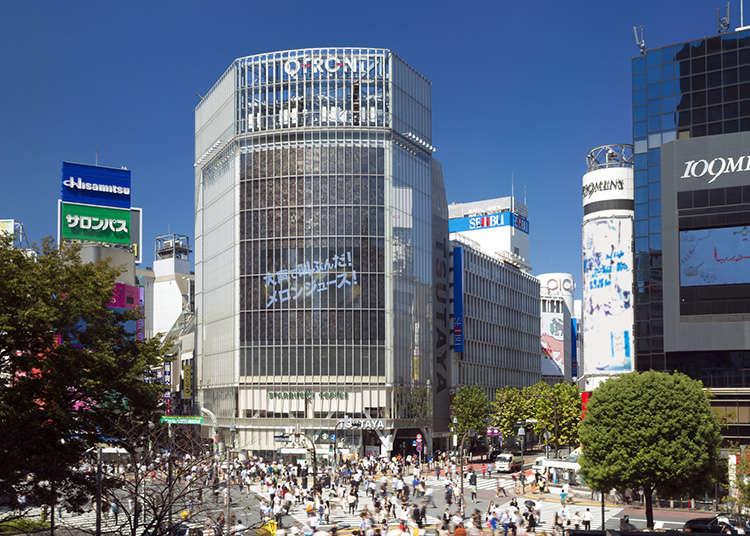 Shibuya and Harajuku - Past and Present