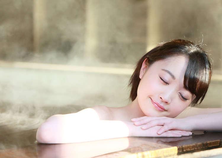 Cara mandi di onsen (kolam air panas semula jadi) dan sento (rumah mandi awam)