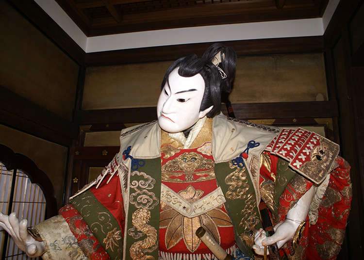 Ningyoujoururi (การแสดงละครหุ่นเชิดญี่ปุ่น)