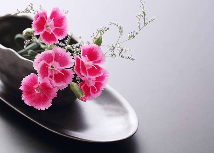 Ikebana (merangkai bunga Jepang)