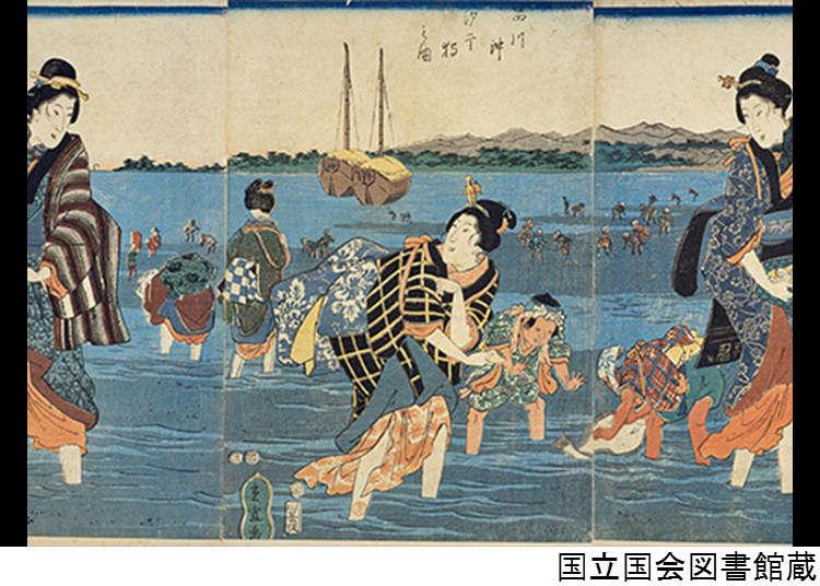 Odaiba yang dahulunya adalah sebuah laut dikenali sebagai Shinagawa Oki