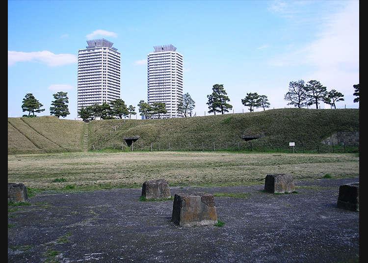 留存至今日的砲台遺跡