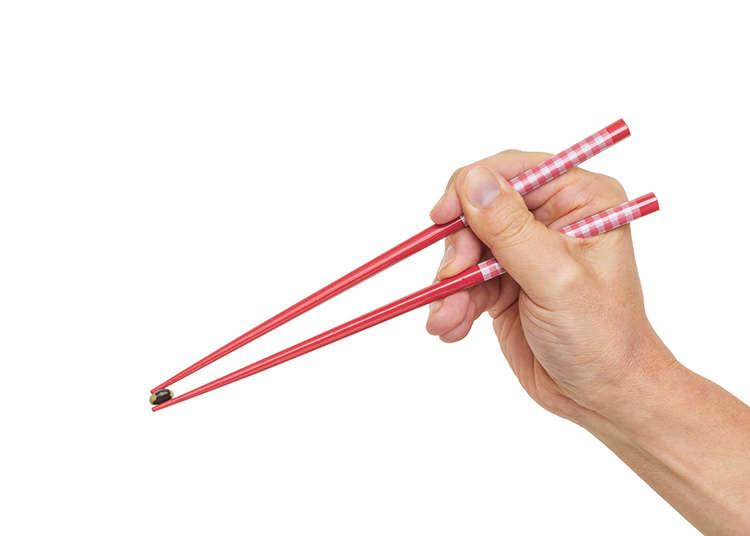 筷子的拿法