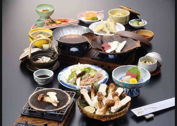 Japanese cuisine to admire with your eyes