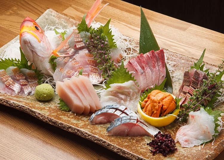 Sashimi dan Ikan Segar