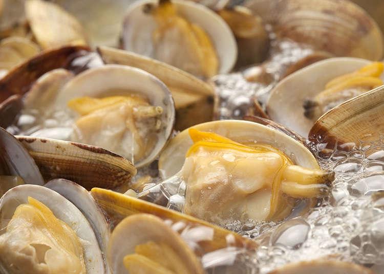Masakan Kerang dan Hasil Laut