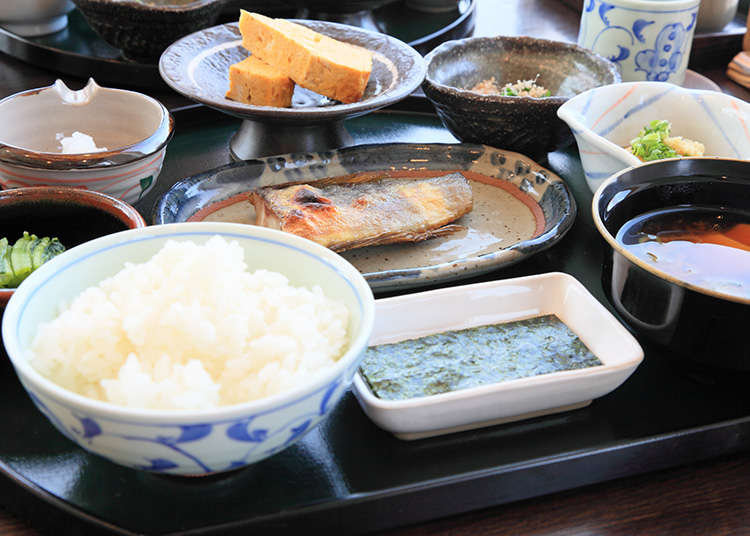 """Gozen"" dan ""Teishoku"" (hidangan set)"