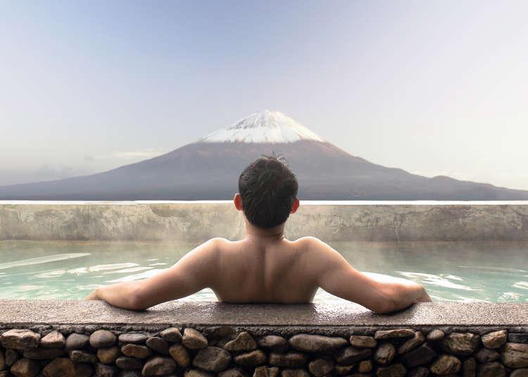 일본의 목욕 문화와 목욕탕 이용 방법