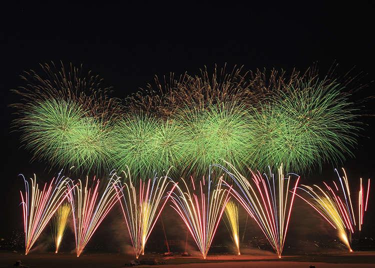 Pertunjukan Kembang Api di Distrik Edogawa