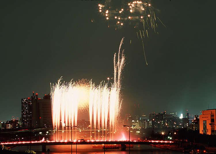 งานแสดงดอกไม้ไฟที่แม่น้ำ Sumidagawa