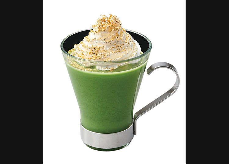 """Nana's Green Tea"" ที่มีการใช้ใบชา"