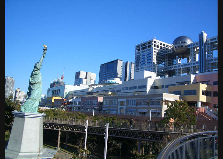 Take a Selfie with Odaiba's Statue of Liberty!