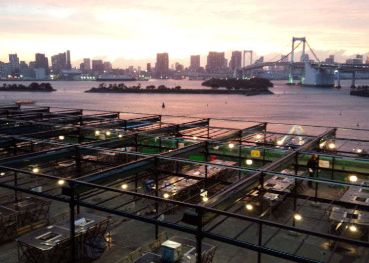 """在""""东京狄克斯海滨""""BBQ(烧烤)"""