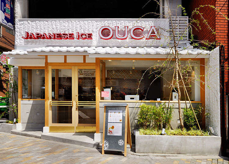 The Japanese Ice OUCA, full of Japanese atmosphere