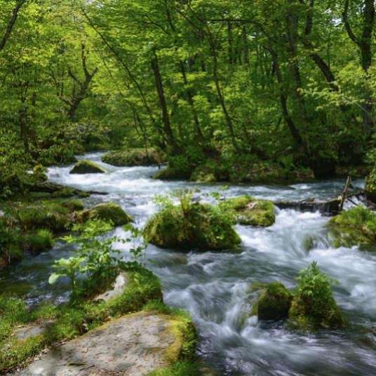 Lembah, alur, sungai dan tasik