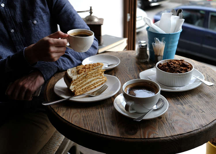 คาเฟ่ ร้านกาแฟ และขนมหวาน