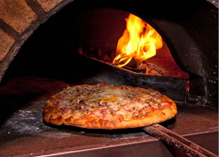 在日本可以品尝到披萨的地方