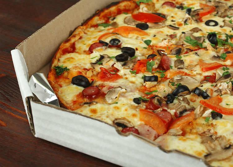 日本披薩的歷史