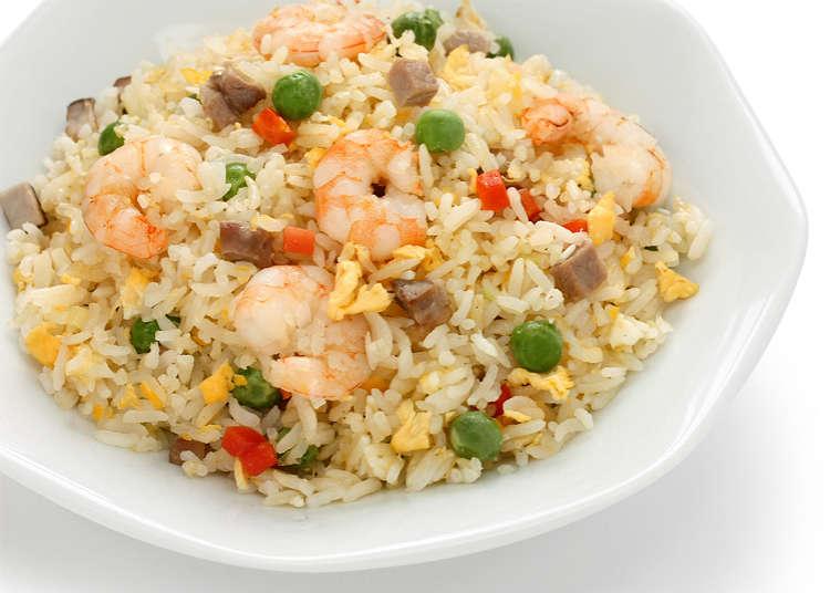 Nasi goreng dan menu nasi