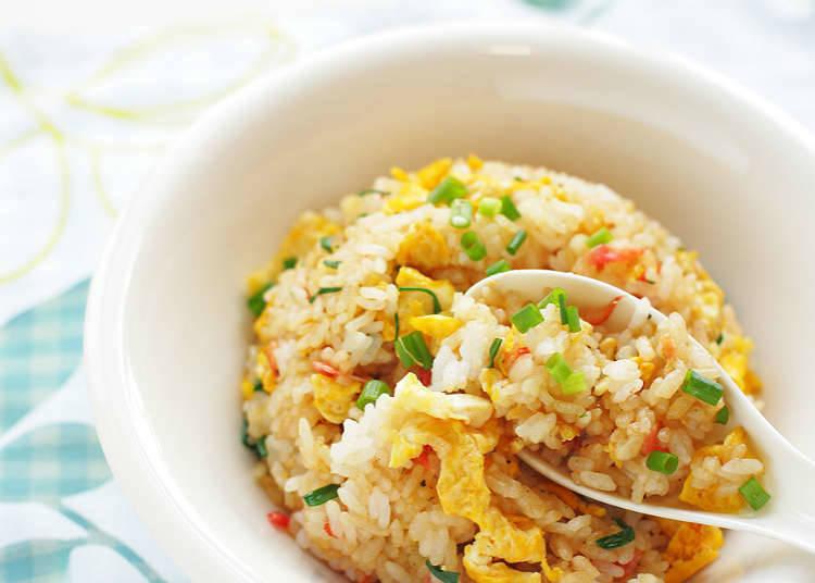 炒飯、米飯類食品的種類