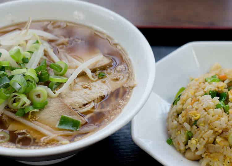在日本能吃到炒飯、米飯類食品的地方