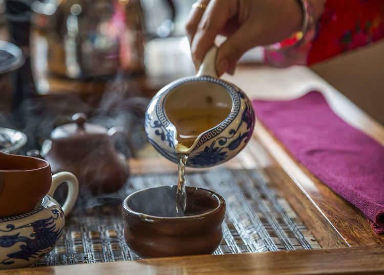ยะมุชะ (การดื่มชาพร้อมกับการรับประทานติ่มซำ)