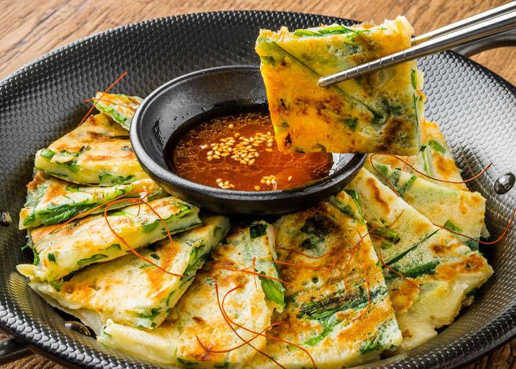 韩式拌饭与韩式煎饼
