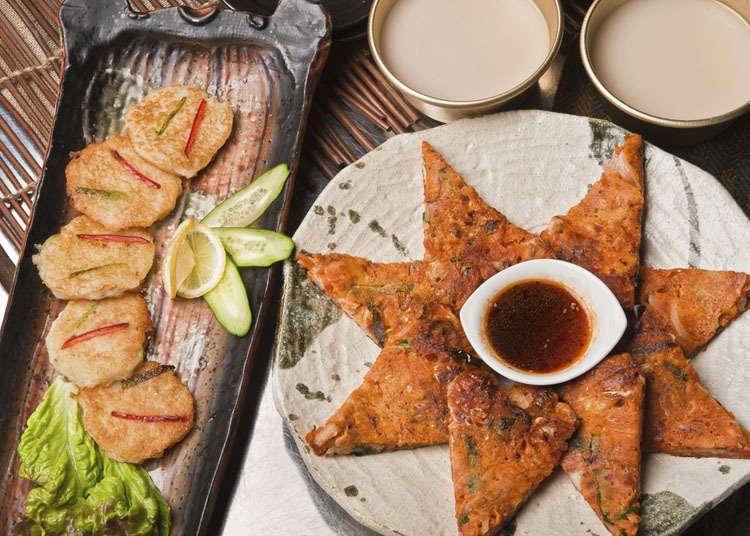 日本韓式煎餅的歷史