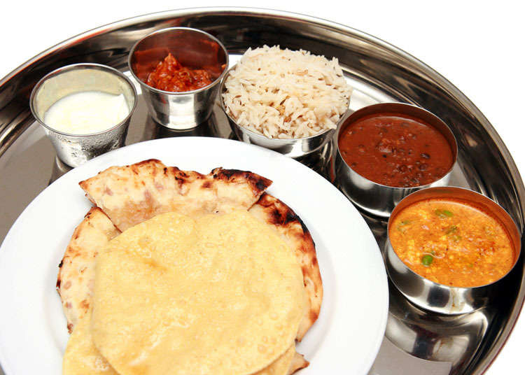 Where to eat Indian cuisine in Japan
