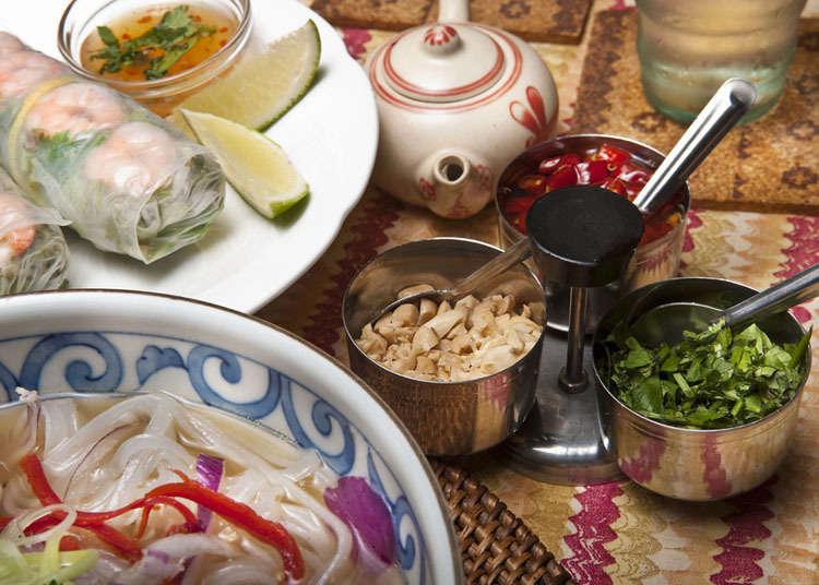 ประวัติของอาหารเวียดนามในประเทศญี่ปุ่น